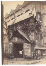 photo ancienne XIXe siècle Rouen St Etienne des Tonneliers