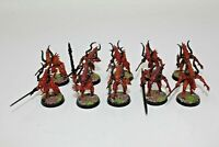 Warhammer Chaos Daemons Bloodletters Well Painted - F2
