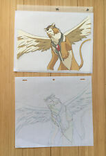 Cardcaptor Sakura Cel Kerberos Kero Chan Japan Anime Art Picture A1 w/ Sketch