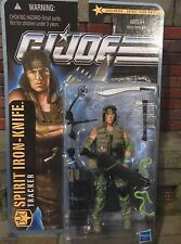 GI JOE ~ 2010 SPIRIT IRON KNIFE ~ 25TH JUNGLE STRIKE TRACKER ~ MOC ROC POC ~
