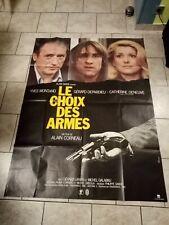 Grande affiche de cinéma du film Le choix des armes 120 x 160