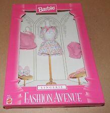 Barbie Fashion Avenue Collection Real Clothes Lingerie Mattel 18092 NIB 97 122C