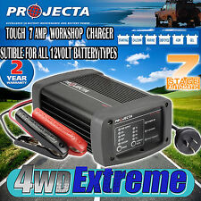 PROJECTA IC700W WORKSHOP BATTERY CHARGER 12 VOLT 7 AMP AUTOMATIC 7 STAGE IC700