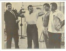 JOHN GRIMEK/WWE/WWF Bruno Sammartino/APOLLO/Skaaland Bodybuilding Photo B&W