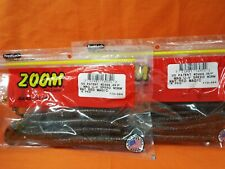 #018-054 WATERMELON RED ZOOM Ultra Vibe Speed Worm 15 cnt 2 PCKS