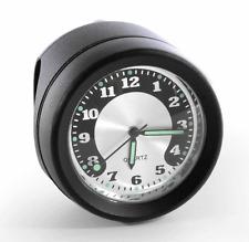 Motorrad Lenkeruhr Metall schwarz Big Uhr großes Ziffernblatt für Harley Chopper
