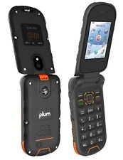 Plum Ram 8 Rugged Flip Phone 4G Unlocked Consumer Cellular Straight Talk