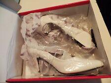 "Womens High Heels Size 13 M Funtasma 3"" White Sexy Style New Original Box"