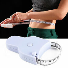 Body Tape Measure Caliper Measuring Waist Measurement Diet Weight Loss 1.5M