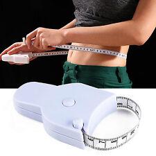 WOW Body Tape Measure Caliper Measuring Waist Measurement Diet Weight Loss 1.5M