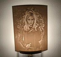 Buffy the Vampire Slayer Lithophane Incandescent Night Light