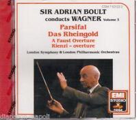 Wagner: Orchestral Music Volumen 3 / Adrian Boult - CD Emi