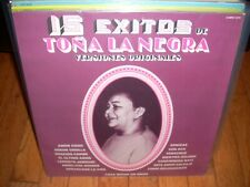 TONA LA NEGRA 15 exitos de ( world music ) mexico