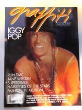 Graffiti Magazine Vol.4 #8 Aug 1988 iggy pop run-d.m.c. whitezombie rock rupaul