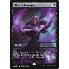 1x FOIL LILIANA'S TRIUMPH - War of the SParks - MTG - Magic the Gathering - NM