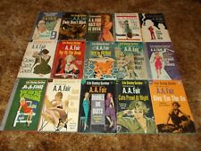 ERLE STANLEY GARDNER~COOL & LAM DETECTIVE SERIES~COMPLETE 29 BOOK COLLECTION