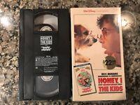 Honey I Shrunk The Kids Vhs! 1989 Comedy! See) Honey I Blew Up The Kid