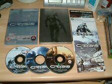 CRYSIS SPECIAL EDITION STEELBOOK ........PC DVD ROM GAME