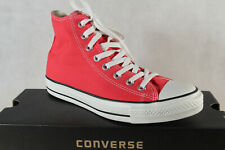 Converse All Star Trainers Lace Up Trainers Red 130126C New