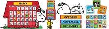 Eureka's Peanuts and Snoopy Classroom Calendar for Teachers, 0.1 x 18 x 28 inche