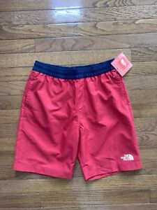 New THE NORTH FACE YOUTH BOYS Shorts/Swim Trunks Large