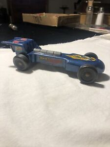 Vintage PineCar Deluxe Formula Grand Prix Pinewood Derby Car Weighted