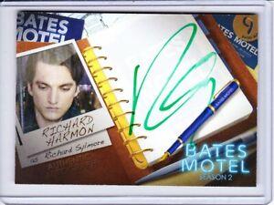 Bates Motel Season 2 Autograph & Signed Costume Trading Card Selection