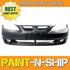 NEW 1999 2000 2001 2002 2003 2004 2005 Pontiac Grand Am GT Front Bumper Painted