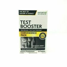 Nature's Science Test Booster - 12 Caplets