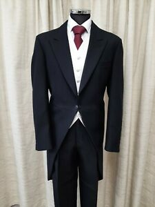 Wool Herringbone Regular Classic Suits Tailoring For Men For Sale Ebay