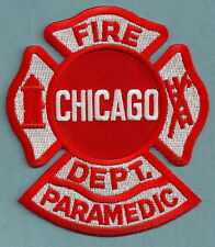 CHICAGO FIRE DEPARTMENT PARAMEDIC PATCH