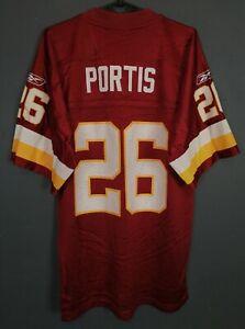 MEN'S WASHINGTON REDSKINS CLINTON PORTIS #26 NFL FOOTBALL SHIRT JERSEY SIZE S