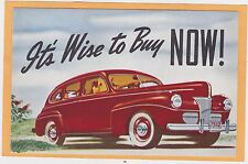 Advertising Postcard - Ford Auto Miner Motor Sales Oriskany Falls New York