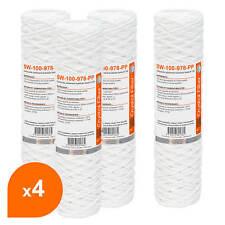 """Cartouche SW-100-978-PP sédiment bobinée 9""""7/8 - filtre 100 µm - Crystal Filter"""