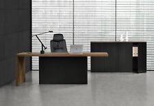 [neu.haus] Chefschreibtisch + 2 Aktenschränke Chefzimmer Schreibtisch Büromöbel