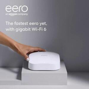 Introducing Amazon eero Pro 6 tri-band mesh Wi-Fi 6 router with built-in Zigbee