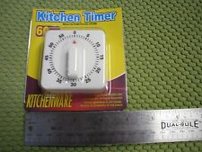 1 Hr 60 minutes Mechanical Timer Game Count down counter alarm Kitchen Cooking