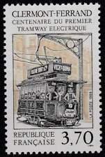 Frankrijk postfris 1989 MNH 2745 - Electrische Tram 100 Jaar