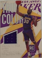 Serial Numbered Los Angeles Lakers NBA Basketball Trading Cards