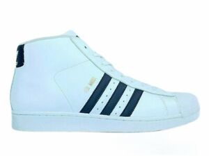 ADIDAS Originals Pro Model Leather Athletic Sneaker Mens white Size 11