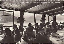 LAGO DI S.CROCE - TERRAZZA DEL BAR RIST.BOLOGNESE - FARRA ALPAGO (BELLUNO) 1959