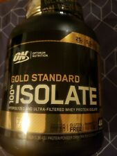 Optimum Nutrition Gold Standard 100% Isolate 3lbs 44 servings Hydrolyzed 7/31/20