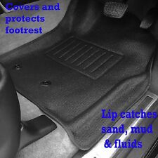 Suits Toyota Land Cruiser 200 Series GX GXL 2013-18 Front Floor Mats Rubber