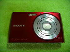 SONY CYBER-SHOT DSC-W510 12.1 MEGA PIXELS DIGITAL CAMERA RED