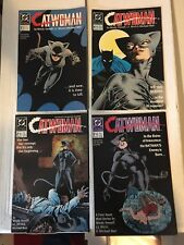 Catwoman #1-4 Complete 1989 Mini Series Set DC Comic Books VF/VF+ Batman