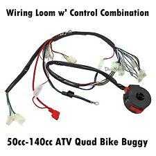Wiring Harness Loom 50cc 70cc 90cc 110cc 125cc 140cc ATV Quad Bike Buggy Gokart
