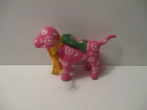 Pink with White Dog Yellow Scarf Back Pack Victoria's Secret Early 2007