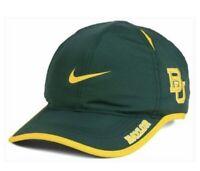 reputable site 4f9cd b659e Brand New Baylor Bears Nike Featherlight Adjustable Hat Cap NCAA