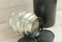 Silver Jupiter 11 135mm f4 M39 Screw Mount Lens USSR Russian