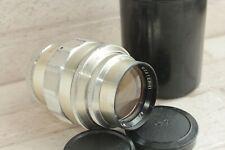 Silver Jupiter 11 135mm f4 M39 Screw Mount Lens USSR Russian